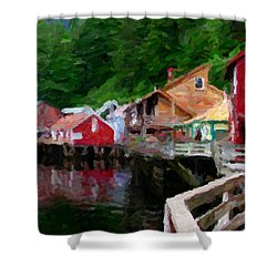 Ketchikan Alaska Shower Curtain