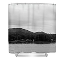 Ketchikan Harbor Shower Curtain