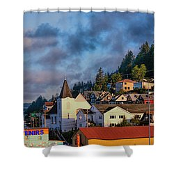 Ketchikan Morning Shower Curtain
