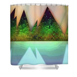 Kettle Fifteen Shower Curtain