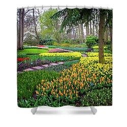 Keukehof Botanic Garden 2015 Shower Curtain