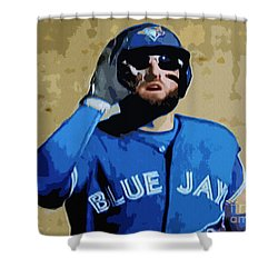 Kevin Pillar Shower Curtain