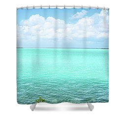 Key Colors Shower Curtain