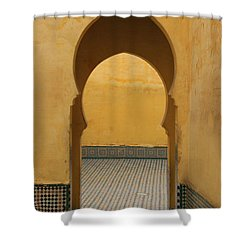 Shower Curtain featuring the photograph Key Hole Doors by Ramona Johnston