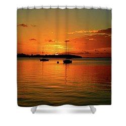 Key Largo Sunset Shower Curtain