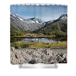 Shower Curtain featuring the photograph Key Summit View by Gary Eason