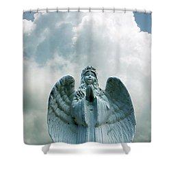 Key West Angel #5 Shower Curtain