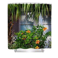 Key West Garden Shower Curtain