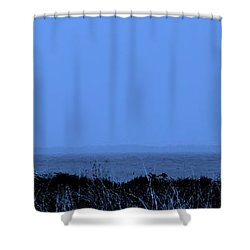 Key West House Boat Shower Curtain by Ed Smith