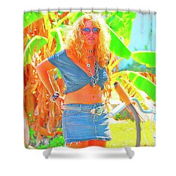 Key West Life Shower Curtain
