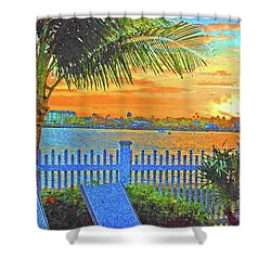 Key West Life Style Shower Curtain