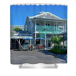 Key West Tackle Shower Curtain
