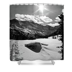 Shower Curtain featuring the photograph Keyboard Of The Winds by Silke Brubaker