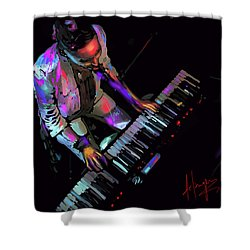 Keys From Above Shower Curtain