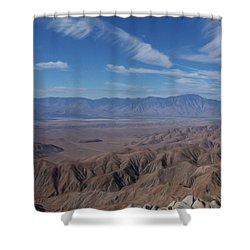 Keys View Shower Curtain