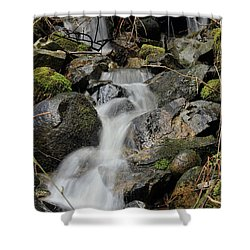 Keystone Shower Curtain by Rod Wiens
