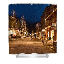 Keystone Village Shower Curtain