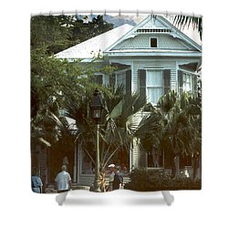 Shower Curtain featuring the photograph Keywest by Steve Karol