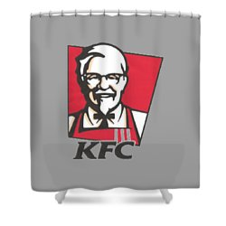 Kfc T-shirt Shower Curtain