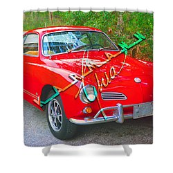 KG1 Shower Curtain by David Lee Thompson