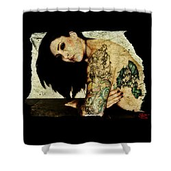 Khrist 2 Shower Curtain