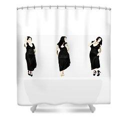 Khrist 4 Shower Curtain