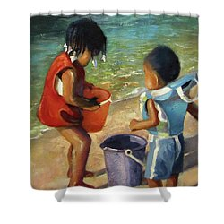 Kids Play Shower Curtain