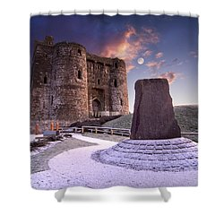 Kidwelly Castle 2 Shower Curtain
