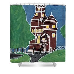 Kiel Germany Lighthouse. Shower Curtain by Jonathon Hansen