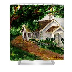 Kihei Chapel Shower Curtain
