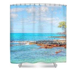 Kihei Paradise Shower Curtain