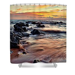 Kihei Sunset Shower Curtain