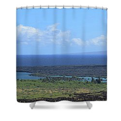 Shower Curtain featuring the photograph Kiholo by Pamela Walton