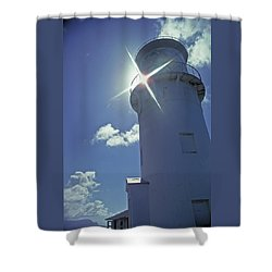 Shower Curtain featuring the photograph Kilauea Lighthouse by Marie Hicks