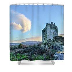 Kilcash Castle Ufo Shower Curtain