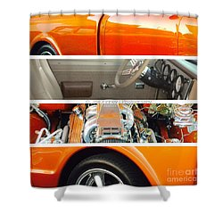 Killeen Texas Car Show - No.2 Shower Curtain