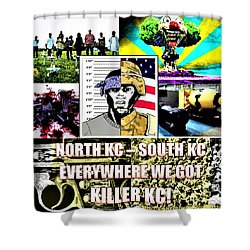 Killer Kc Shower Curtain
