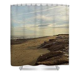 Kilnsea  Shower Curtain