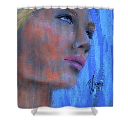 Kimberly Shower Curtain by P J Lewis