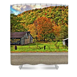 Kindred Barns Shower Curtain