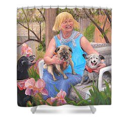 Kindred Spirits Shower Curtain by Donelli  DiMaria