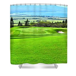 King Kamehameha G C Vista Shower Curtain