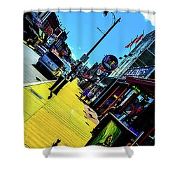 King Of Beale Shower Curtain