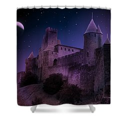 Shower Curtain featuring the photograph King Of My Castle by Bernd Hau
