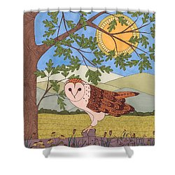 King Of The Meadow Shower Curtain