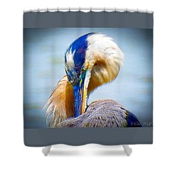 King Of The River Shower Curtain