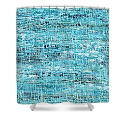 King Tide Shower Curtain
