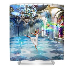 Kingdom Encounter Shower Curtain