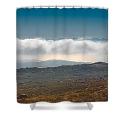 Shower Curtain featuring the photograph Kingdom In The Sky by Gary Eason