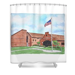 Kings Bay Marine Corps Security Force Battalion Shower Curtain